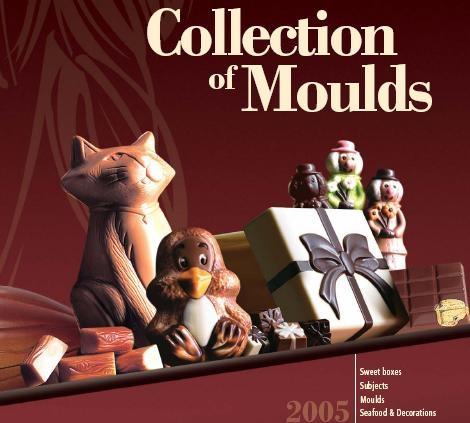 Chocolux collection csokoládé bonbonformák